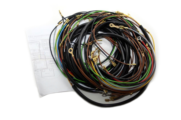 Bild von Kabelbaumsatz S51/1  12V -Elektronik