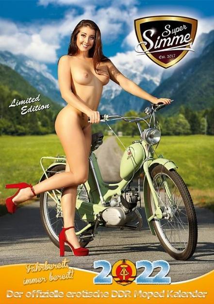 Bild von SIMSON - Kalender -Erotik 2022